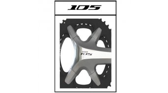 Specialites T.A. X110 Kettenblatt Cover Kit Shimano 105 silber