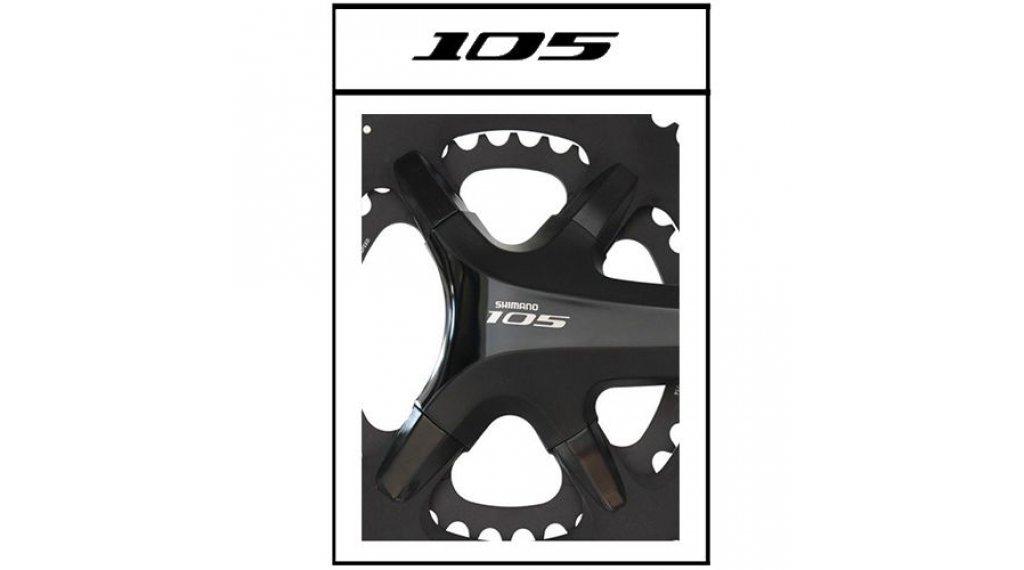 Specialites T.A. X110 Kettenblatt Cover Kit Shimano 105 schwarz