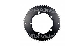 Praxis Works TT-Aero Kettenblatt-Set 10-/11-fach 53/39 Zähne Lochkreis 130mm