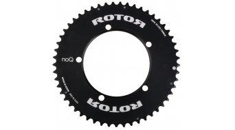 ROTOR NoQ-Ring Aero Kettenblatt 55T 5-Loch (130mm) schwarz (außen)