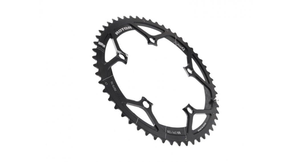 rotor NoQ Road chain ring 2 speed 5x130 39T inner black