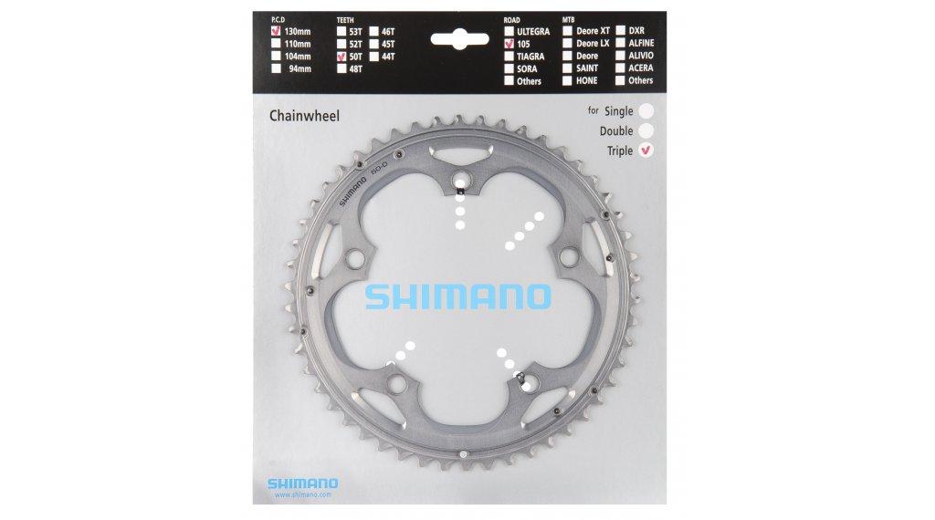 Shimano 105 10 sebességes lánckerék 39T ezüst FC-5703