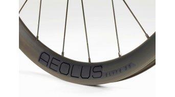 """Bontrager Aeolus Elite 35 TLR Disc 28"""" Vorderrad 12x100mm Center Lock black"""