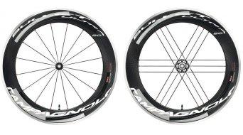 Campagnolo BULLET ULTRA Dark Label 80 Laufradsatz mit Stahl-Lager für Drahtreifen