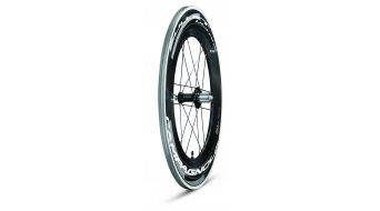 Campagnolo BULLET ULTRA Dark Label 105 2-WAY FIT set ruote ant+post Campa 9/10/11 con acciaio- cuscinetto per filo & Tubeless gomma WH12-BUU2FR105DK