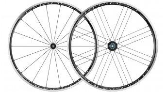 """Campagnolo Khamsin C17 28"""" Clincher Rennrad Laufradsatz schwarz-weiß"""