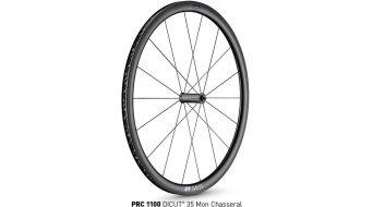 "DT Swiss PRC 1100 Dicut 35 Mon Chasseral 28"" bici da corsa ruota 35mm-Felgenhöhe QR"
