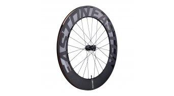 "Easton EC90 AERO85 28"" Disc bici carretera-rueda completa rueda delantera 12x100mm negro"