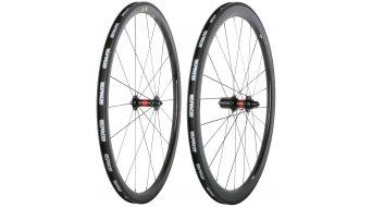 ENVE SES 3.4 G2 Rennrad Laufradsatz Clincher DT Swiss 240S Schnellspanner 9x100/10x130 11-fach Shimano/SRAM Rennrad schwarz/schwarzes Logo