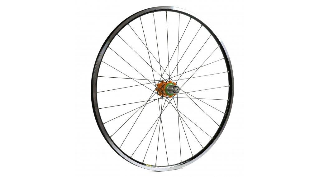 Hope Open Pro - Pro 4 Straightpull Disc Rennrad Laufrad Hinterrad 32-Loch 5x135mm/12x142mm Stahl-Freilauf orange