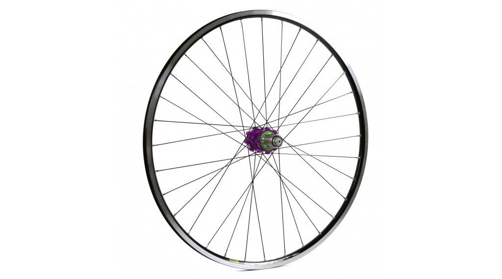 Hope Open Pro - Pro 4 Straightpull Disc Rennrad Laufrad Hinterrad 32-Loch 5x135mm/12x142mm Stahl-Freilauf purple