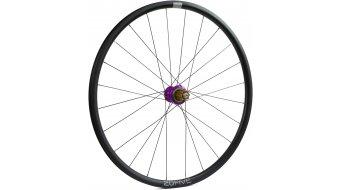 Hope Tech 20Five RS4 Disc Centerlock Rennrad/Cyclocross Laufrad Hinterrad 32-Loch Campagnolo-Freilauf purple