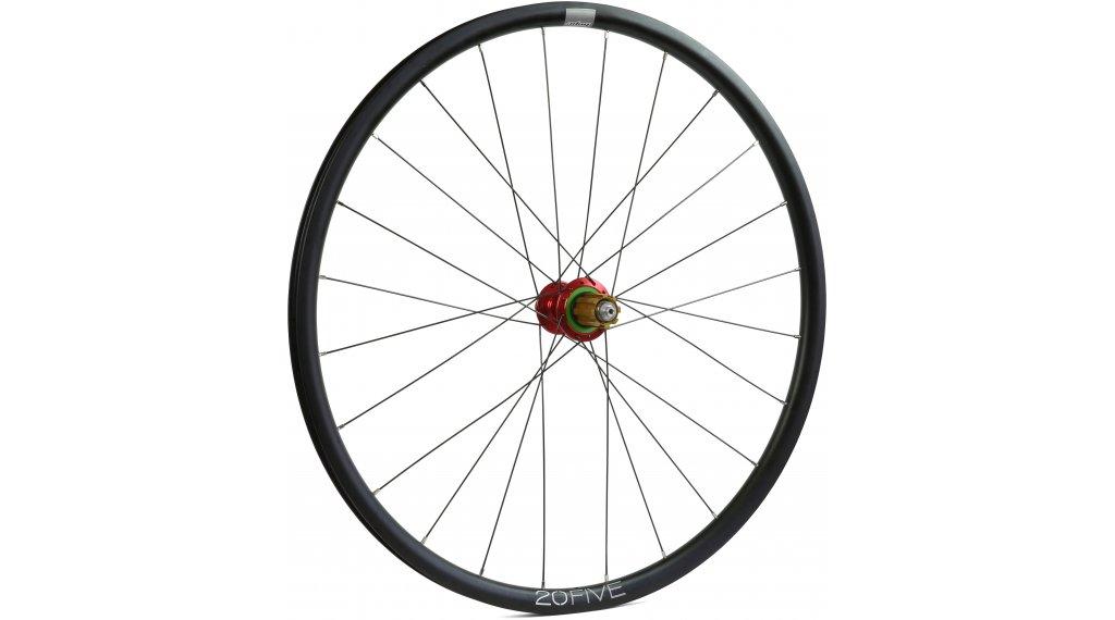 Hope Tech 20Five RS4 Disc Centerlock Rennrad/Cyclocross Laufrad Hinterrad 32-Loch Campagnolo-Freilauf red