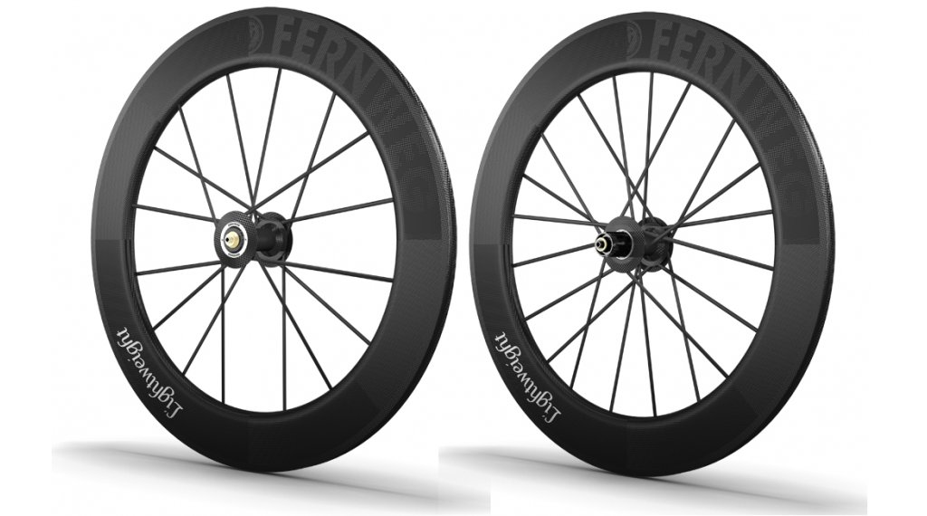 Lightweight Fernweg Tubular 轮组 16/20h (Shimano-自由轮)