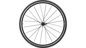 "Mavic Aksium Elite EVO 25 UST 28"" bici carretera rueda completa rueda trasera negro"