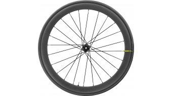 """Mavic Cosmic Pro Carbon UST Tubeless Disc 28"""" bici da corsa ruota anteriore nero"""