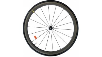 "Mavic Cosmic Pro carbono UST 28"" bici carretera rueda completa rueda delantera negro"
