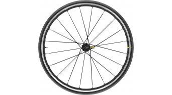 """Mavic Ksyrium Elite UST 28"""" bici carretera rueda completa rueda delantera negro"""