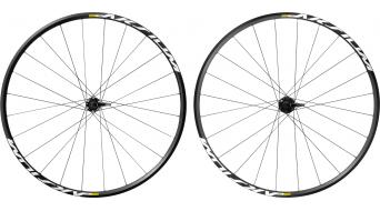 Mavic Aksium Disc Clincher Rennrad Laufradsatz Centerlock M11 Shimano/SRAM-Freilauf black Mod. 2017
