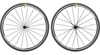 "Mavic Aksium Elite WTS 28"" Clincher road bike 287## set 9x100mm/9x135mm M11 Shimano/SRAM- freewheel black 2018"