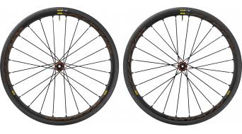 Mavic Ksyrium Elite Disc Allroad Clincher WTS bici carretera juego de ruedas 6 agujeros M11 Shimano/SRAM-piñon libre negro Mod. 2017