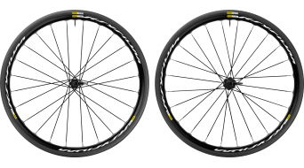 Mavic Ksyrium Disc Clincher WTS bici carretera juego de ruedas 25mm 6 agujeros M11 Shimano/SRAM-piñon libre negro Mod. 2017