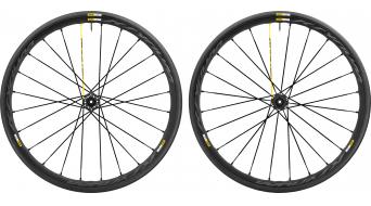 Mavic Ksyrium Pro Disc Clincher WTS bici carretera juego de ruedas 25mm 6 agujeros M11 Shimano/SRAM-piñon libre negro Mod. 2017