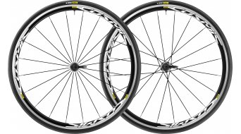 "Mavic Cosmic Elite UST Disc WTS 28"" Clincher bici carretera juego de ruedas 25mm 12x100mm/12x142mm IS 6 agujeros M11 Shimano/SRAM-piñon libre negro Mod. 2018"
