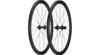 Specialized Roval Rapide C38 Disc 28 set ruote ant+post Clincher Boost satin carbonio/nero