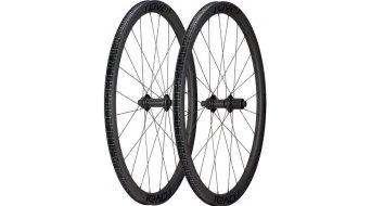 Specialized Roval Rapide C38 Disc 28 Laufradsatz Clincher Boost satin carbon/black