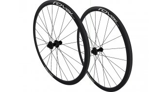 Specialized Roval Fusee SLX Disc 28 set ruote ant+post Clincher nero/charcoal