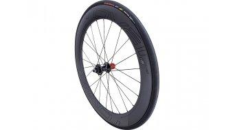 """Specialized Roval Rapide CLX 64 Disc 28"""" Rennrad Laufrad Clincher Hinterrad satin carbon/gloss black"""