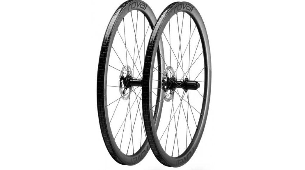 """Specialized Roval Rapide C38 Disc 28"""" Laufradsatz Clincher carbon/black"""