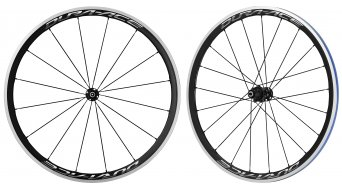 Shimano Dura Ace WH-R9100-C40-CL Carbon bici da corsa set ruote ant+post Clincher 11 velocità nero