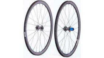 "Tune Schwarzbrenner 38C Disc 28"" Clincher bici carretera juego de ruedas 9x100//10x135mm Shimano/SRAM-piñon libre"