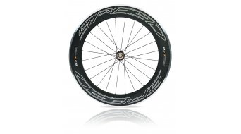 Veltec SPEED 8.0 Rennrad Laufrad Aluminium Carbon Clincher HR black
