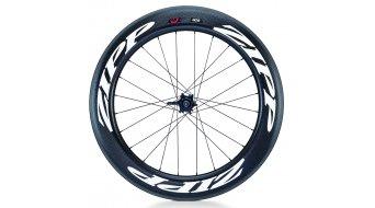 Zipp 808 Firecrest carbon Clincher wheel rear wheel 10/11 speed black/white