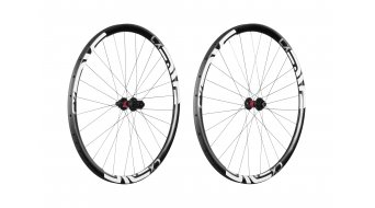 ENVE CX Cyclocross disc wheel set Tubular DT Swiss 240S thru-axle 15x100/12x142 10-fach Shimano/SRAM black/whites  logo
