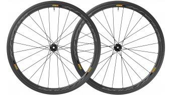"Mavic Ksyrium Pro Carbon SL T Disc WTS 28"" Tubular bici da corsa set ruote ant+post 25mm 12x100mm/12x142mm M11 Shimano/SRAM- corpo ruota libera black mod. 2018"