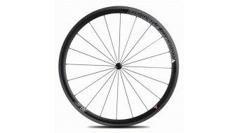 Profile Design 38 TwentyFour Carbon Tubular Rennrad-Laufradsatz für Schlauchreifen black