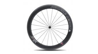 Profile Design 58/78 TwentyFour Carbon Tubular black Logo Rennrad-Laufradsatz für Schlauchreifen black