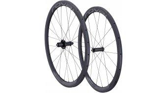 Specialized Roval Rapide CLX 40 Tubular 700C Rennrad Laufradsatz charcoal/black