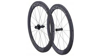 Specialized Roval Rapide CLX 60 Tubular 700C Rennrad Laufradsatz charcoal/black