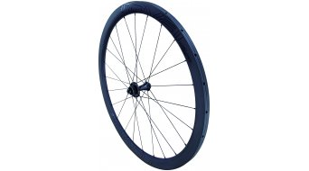 Specialized Roval Rapide CLX 40 Disc Rennrad Laufrad Tubular Vorderrad satin carbon/gloss black