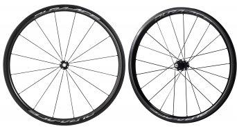 Shimano Dura Ace WH-R9100-C40-TU Carbon bici da corsa set ruote ant+post Tubular 11 velocità nero