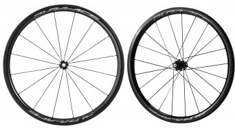 Shimano Dura Ace WH-R9100-C40-TU Carbon Rennrad Laufradsatz Tubular 11-fach schwarz