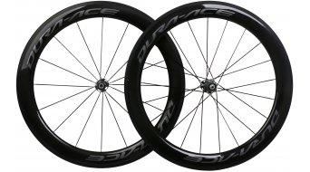 Shimano Dura Ace WH-R9100-C60-TU Carbon Rennrad Laufradsatz Tubular 11-fach schwarz