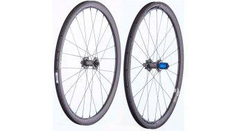 "Tune Schwarzbrenner 38T Disc 28"" Tubular bici da corsa set ruote ant+post 9x100mm//10x130mm Shimano/SRAM- corpo ruota libera"
