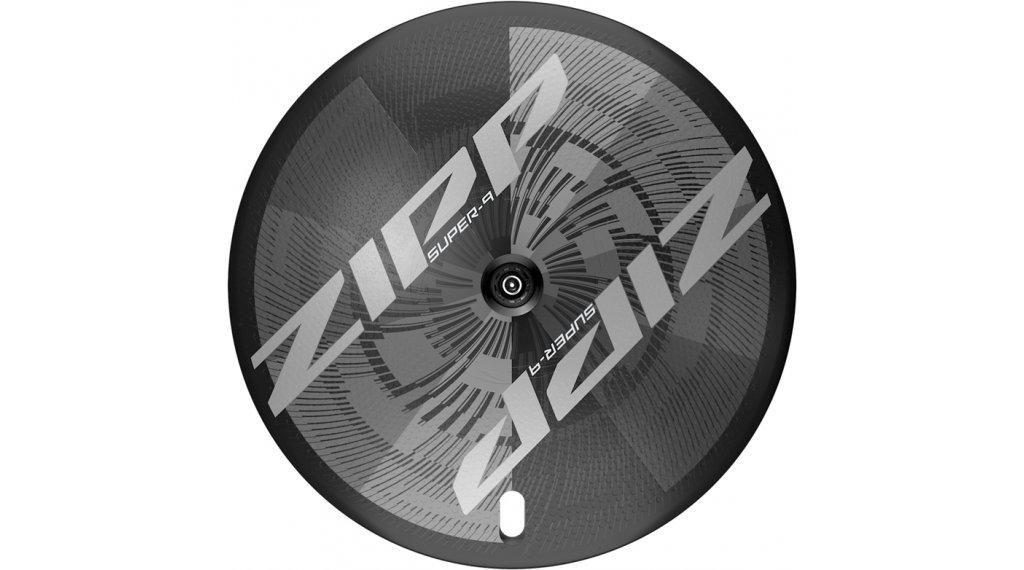 Zipp Super-9 carbon 28 Tubular disc road bike rear wheel Shimano/SRAM- freewheel standard  graphic