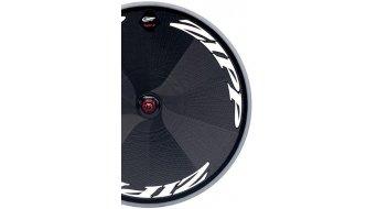 Zipp Sub-9 Tubular Scheiben-Laufrad HR 700c schwarz/weiße-Aufkleber (SRAM/Shimano-Freilauf)